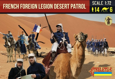 192 French Foreign Legion Desert Patrol