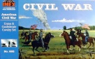 602 Union/Confederate Calvary - Complete Set.