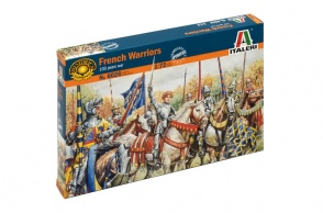 6026  French Knights and Foot Soldiers