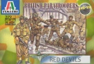 6034World War II British Paratroopers - RED DEVILS
