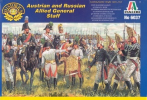 6037Napoleonic Austrian and Russian Allied General Staff