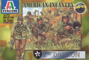 6046 2nd WWII AMERICAN INFANTRY