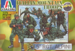 6059World War II Italian Mountain Troops