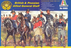 6065Napoleonic British and Prussian Allied General Staff