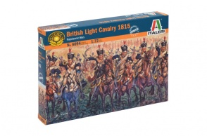 6094 - scala 1 : 72 British Light Cavalry 1815