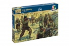6120 American Infantry WWII - include 48 figure 16 pose
