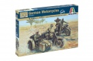 6121 - scala 1 : 72 GERMAN MOTORCYCLES