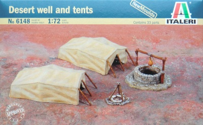 6148 Desert well and tents - ACCESSORIES