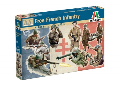 6189  WWII -  Free French Infantry