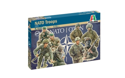 6191 -MODERNS  NATO TROOPS 1980s