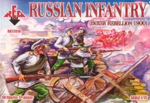 72018	Boxer Rebellion Russian Infantry