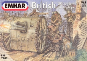 7202  British WWI Artillery