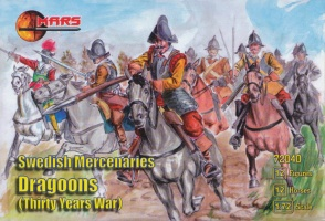 72040	Thirty Years War Swedish Mercenary Dragoons