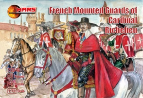 72046 French mounted guards of Cardinal Richelieu