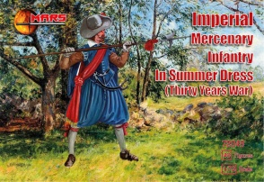72048 Imperial mercenary infantry in summer dress TYW