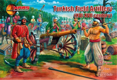 "72103 ""Turkish Field Artillery (16th - 17th Century)"
