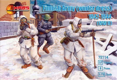 72114 Finnish army winter WWII