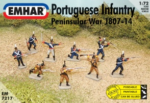 7217 Napoleonic War -  Portuguese Infantry and Cazadores