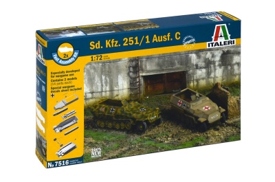 7516 - Sd.Kfz. 251/1 Ausf. C CARRI FAST ASSEMBLY .