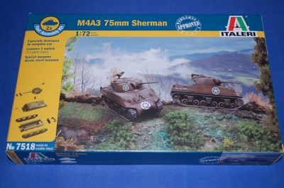 7518 - SHERMAN M4 A3  CARRI FAST ASSEMBLY .