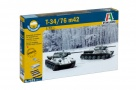 7523 - scala 1 : 72 T34/76 m42 FAST ASSEMBLY