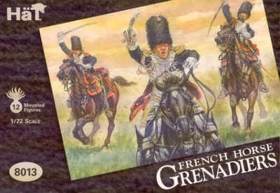 8013 Napoleonic French Horse Grenadiers