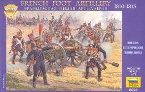 8028ZS FRENCH FOOT ARTILLERY