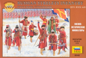 8040ZS RUSSIAN STRELETS WARRIORS