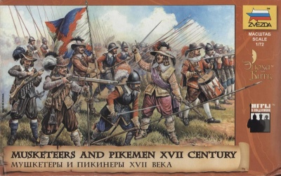 8061 17th Century Austrian Musketeers and Pikemen