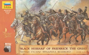 8079ZS BLACK HUSSARS OF FREDERICK THE GREAT