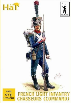 8252 Napoleonic French Light Infantry Chasseurs (Command)