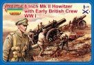 A003  8 Inch Mk.II Howitzer with British Crew (WWI)