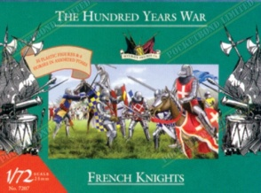 AC7207 French Knights 1400AD - 100 Years War