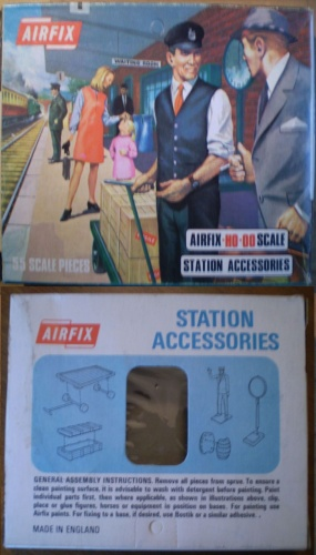 AIRFIX BLUEBOX S42-69 - Station Accessories