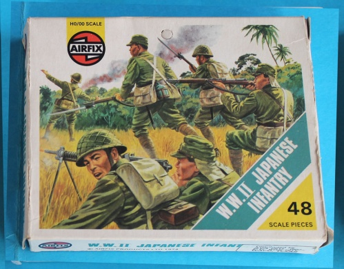 AIRFIX -S18-69 - WWII Japanese Infantry  - BLUEBOX