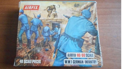 AIRFIX S26-69 - BLUEBOX WWI German Infantry