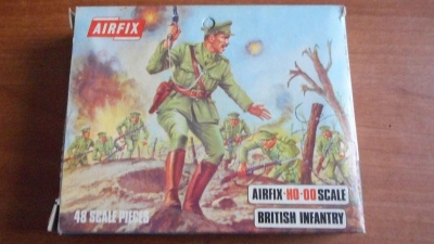 AIRFIX S27-69 - WWI British Infantry BLUE-BOX