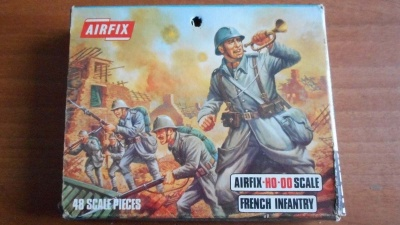 AIRFIX S28 - WWI French Infantry