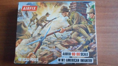 AIRFIX - S2 - WWI American Infantry