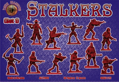 ALL72039 Stalkers. Set 1 - 48 FIGURES