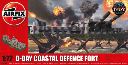 Airfix AX05702 - WWII D-Day Coastal Defence Fort