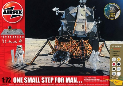 Airfix -  One Small step for Man 1: 72 scale Diorama Gift set