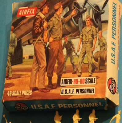 Airfix  S48 - WWII  U.S.A.F. Personnel