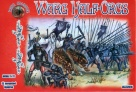 Alliance 1/72 72018 Warg Half-Orcs (12 Mounted Figures)