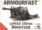 Armourfast 89001 - LEFH 18 Howitzer 105mm WITH 2 GUNS AND 8 CREW IN EACH BOX