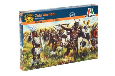 BATTLE of RORKE 's DRIFT  Set 6051 Zulu Warriors Infantry- 48 FIGURES