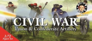 Billy V-Imex BVI-690 Civil War, Union and Confederate Artillery