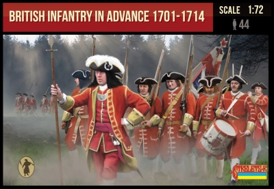British Infantry in Advance 1701-1714 for Spanish Succession War (Marlburia)