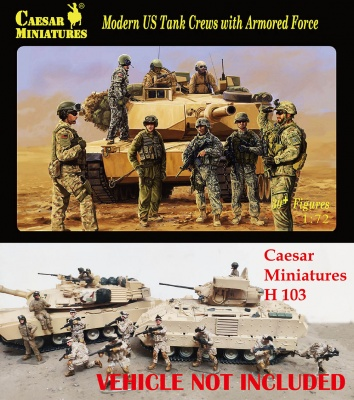 CMH103  1:72	Modern US Tank Crews with Armored Force