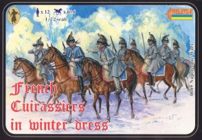French Cuirassiers in Winter Dress